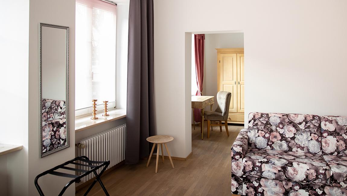 Apartment Stockach A6 Wohnzimmer