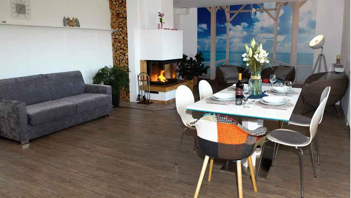 Apartment Stockach A26 Wohn-Essbereich