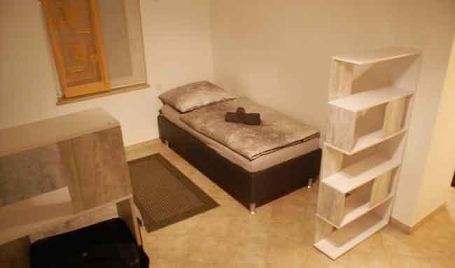 Apartment Gottmadingen A1 Schlafbereich