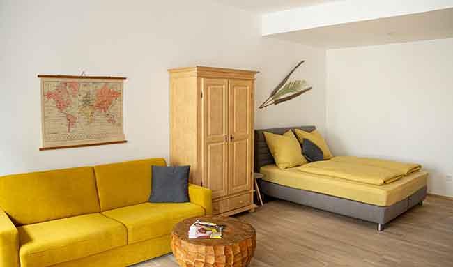 Apartment Stockach A7 Schlafbereich