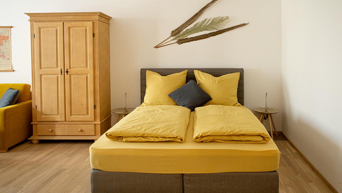 Apartment Stockach A7 Schlafzimmer