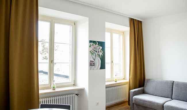 Apartment Stockach A7 Wohnbereich