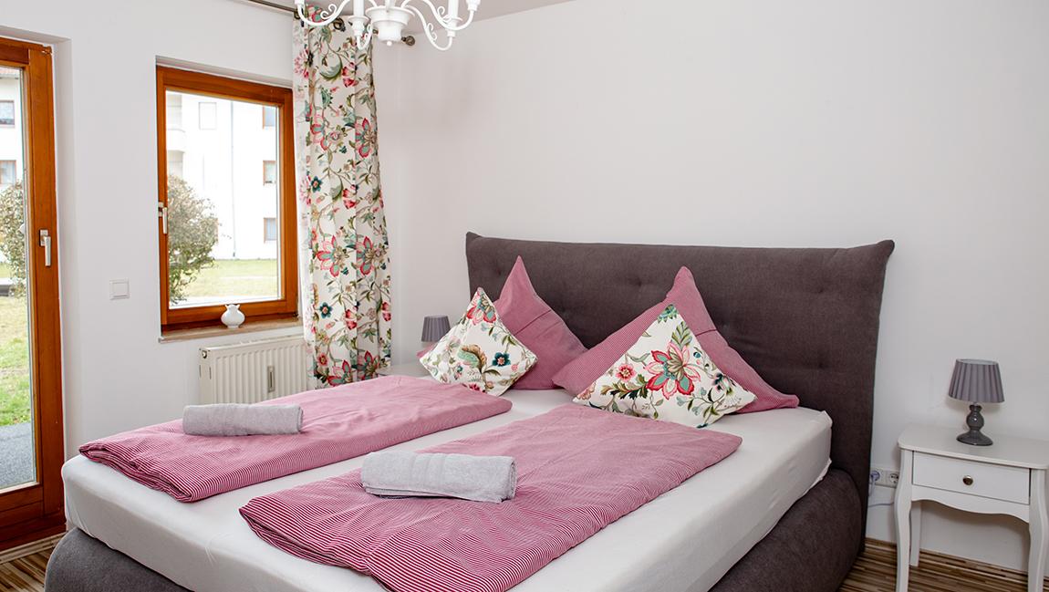 Apartment Singen A12 Schlafzimmer