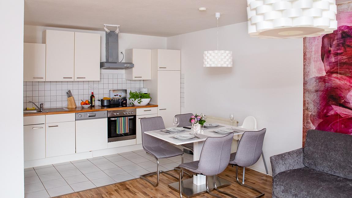 Apartment Singen A12 Küche