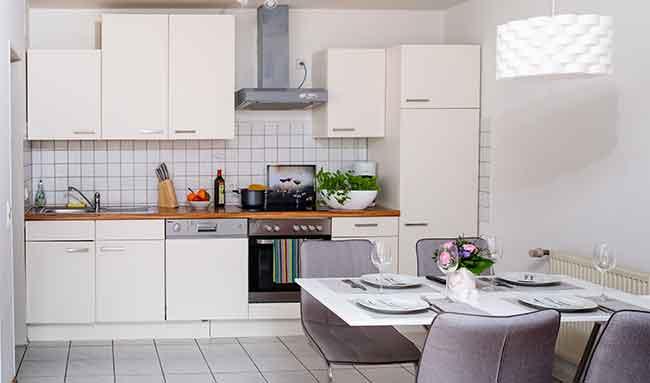 Apartment Singen Küche