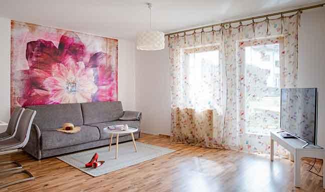 Apartment Singen Wohnzimmer