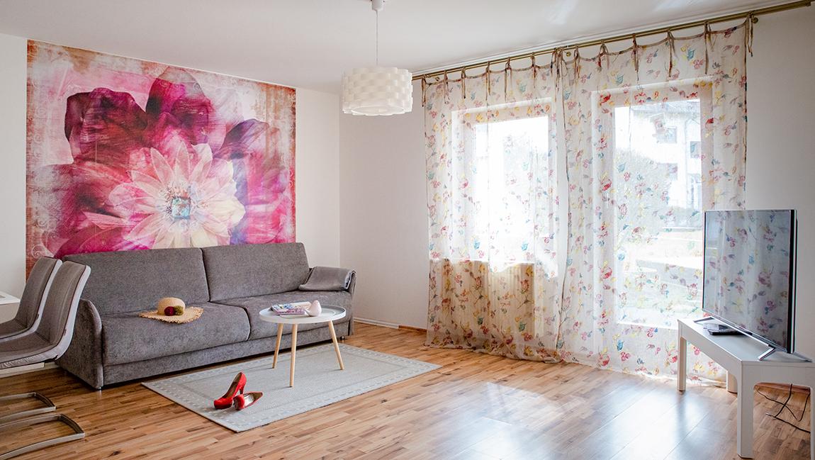 Apartment Singen A12 Wohnbereichh