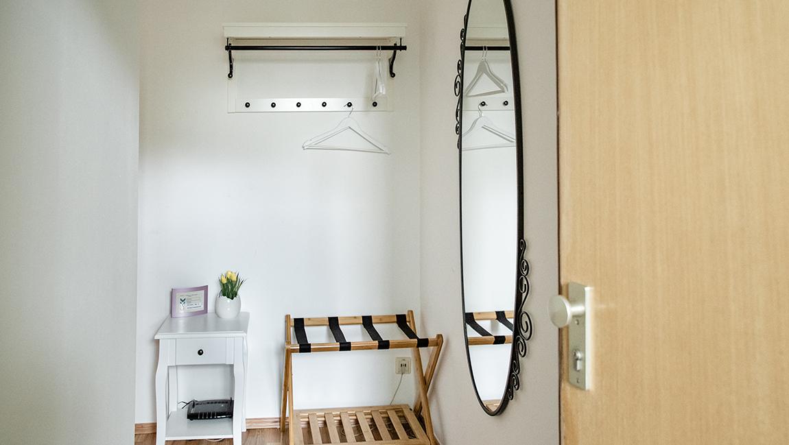 Apartment Singen A12 Garderobe