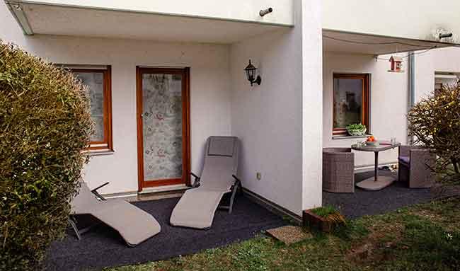 Apartment Singen A12 Terrasse