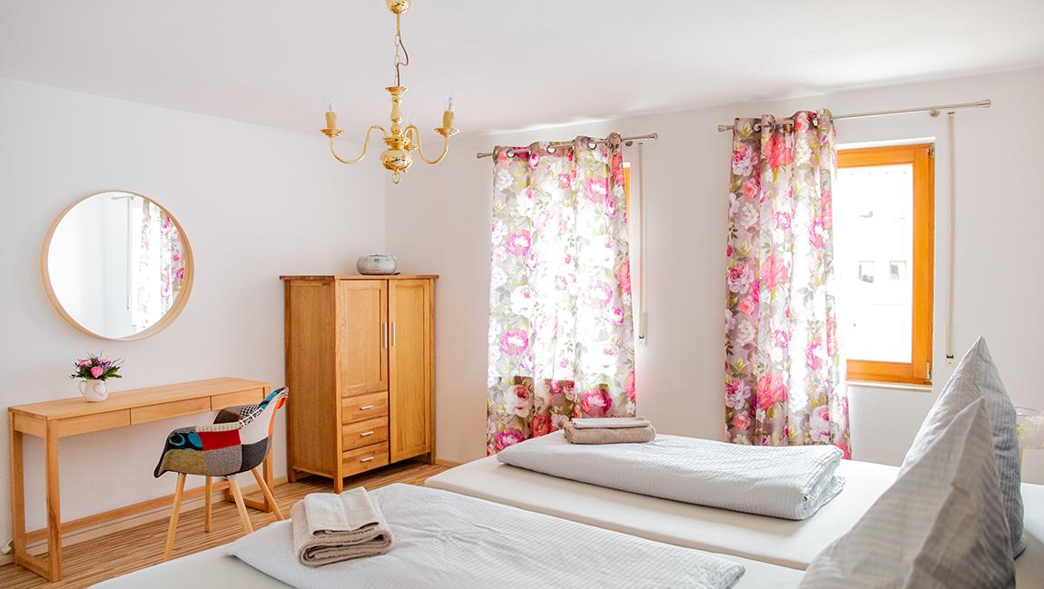 Apartment Singen A16 Schlafzimmer