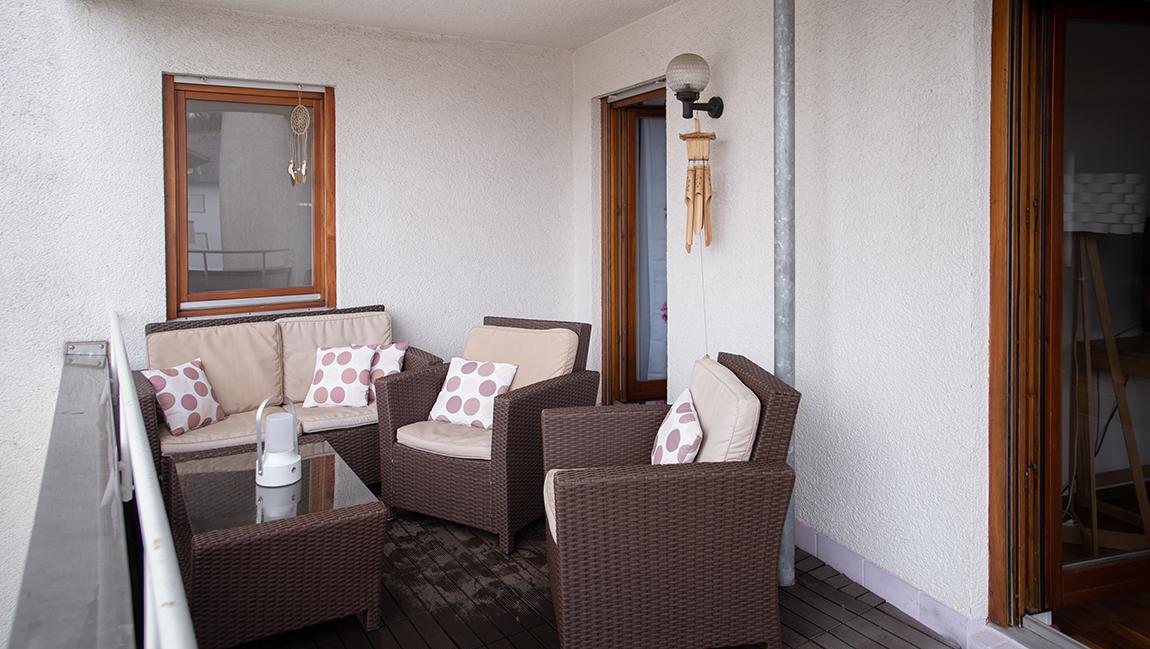 Apartment Singen A16 Balkon