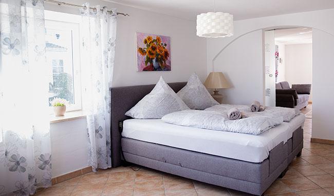 Apartment Gottmadingen A2 Schlafzimmer