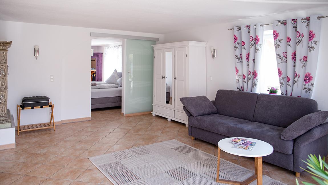 Apartment Gottmadingen A2 Wohnzimmer