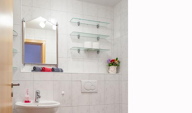 Apartment Gottmadingen A2 Badezimmer