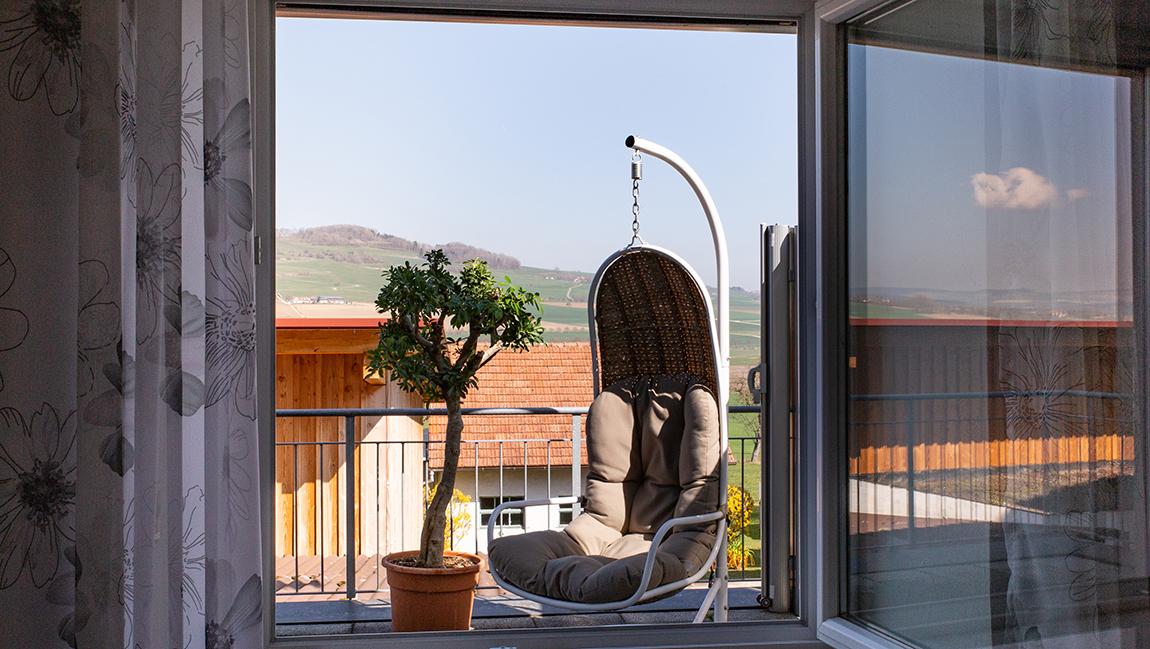 Apartment Gottmadingen A2 Balkon