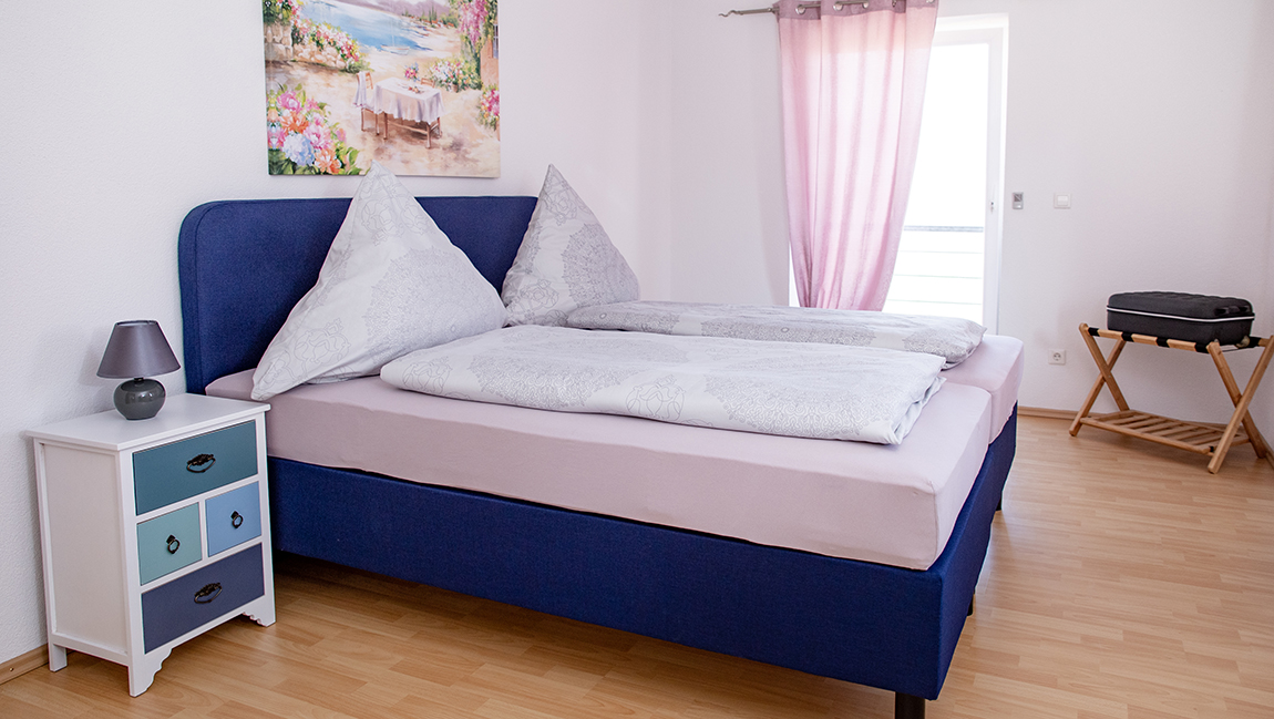 Apartment Gottmadingen A3 Schlafzimmer