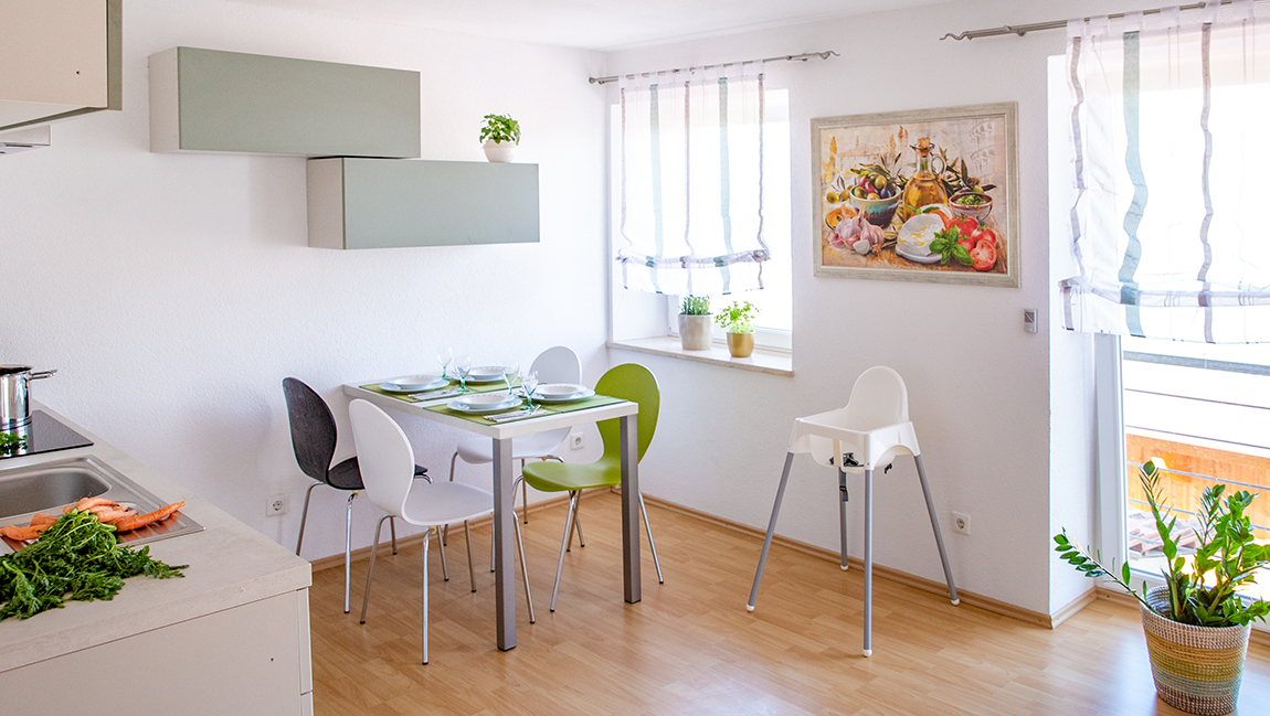 Apartment Gottmadingen A3 Essbereich