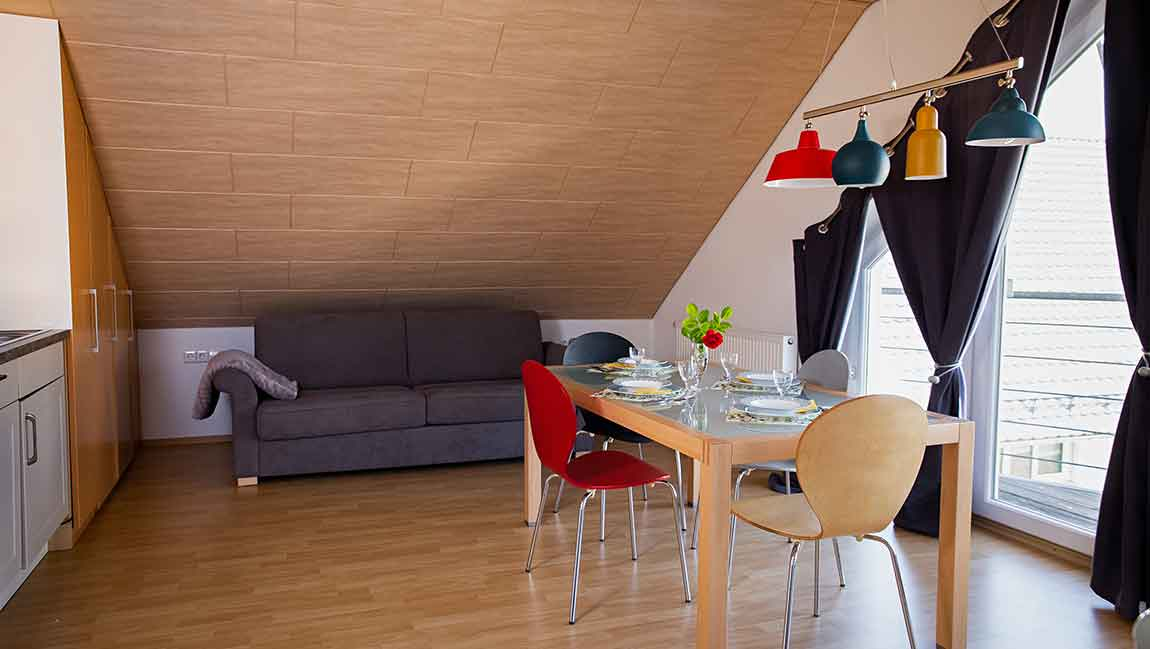 Apartment Gottmadingen A4 Wohn-Essbereich