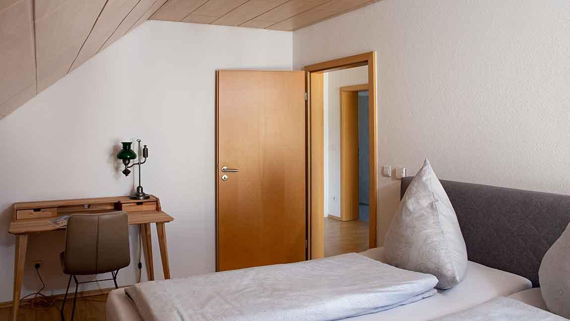 Apartment Gottmadingen A4 Schlafzimmer
