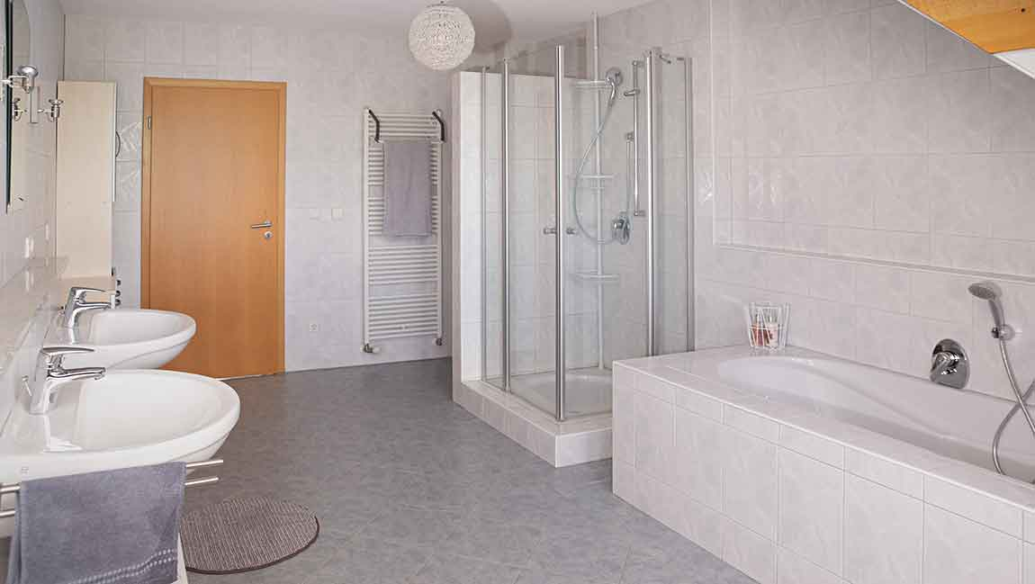 Apartment Gottmadingen A4 Badezimmer