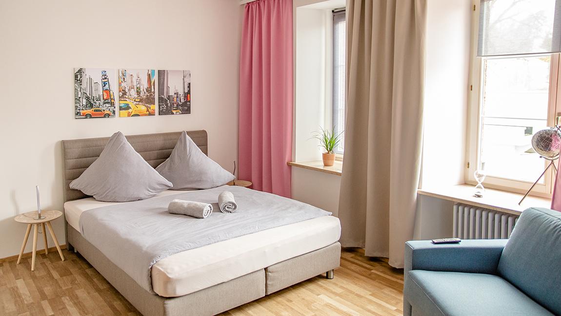 Apartment Stockach A5 Schlafbereich