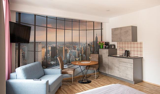 Apartment Stockach A5 Küche Essbereich