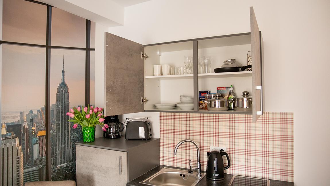 Apartment Stockach A5 Küche